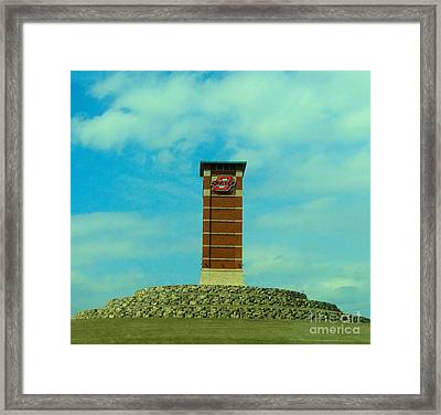 Oklahoma State University Gateway To Osu Tulsa Campus Framed Print