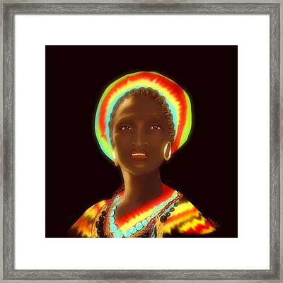 Osumare Framed Print