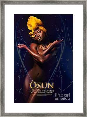 Osun Framed Print by James C Lewis