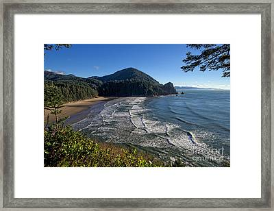 Oswald West From Cape Falcon Framed Print