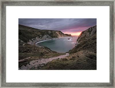 Oswald's Steps Framed Print by Chris Frost