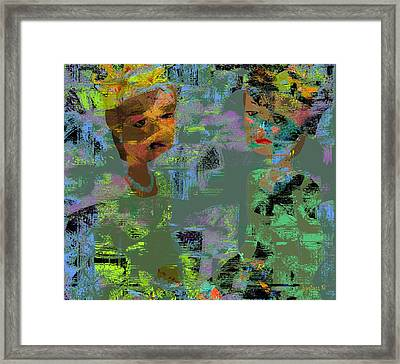 Other First Ladies  Framed Print by Fania Simon