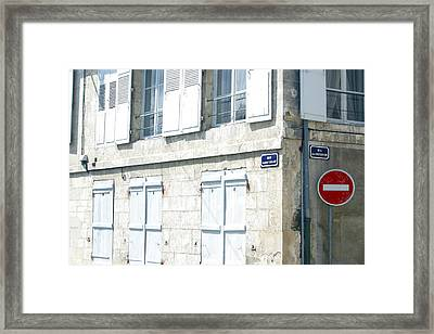 Other Way Framed Print by Jez C Self