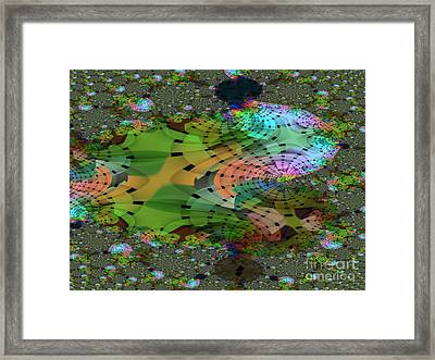Other Worlds Framed Print by Lilian F Norris
