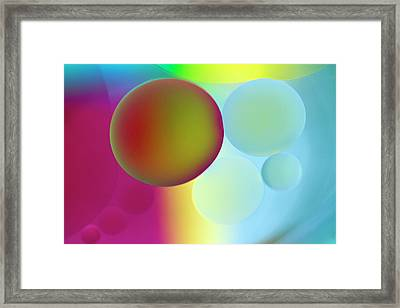 Other Worlds Framed Print by Rebecca Cozart