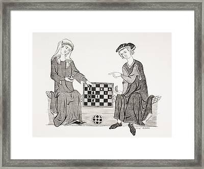 Othon Iv, Marquis Of Brandebourg, 1238 Framed Print by Vintage Design Pics