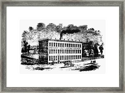Otis Elevator Factory Framed Print by Granger
