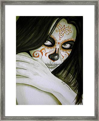 Otro Dia Triste Sin Ti  Framed Print by Al  Molina