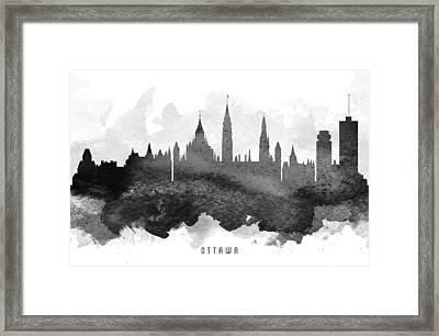 Ottawa Cityscape 11 Framed Print