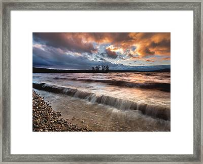 Ottawa River Sunset Framed Print by Cale Best