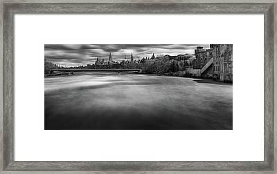 Ottawa Spring Flood Framed Print