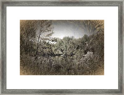 Otter Creek  Framed Print