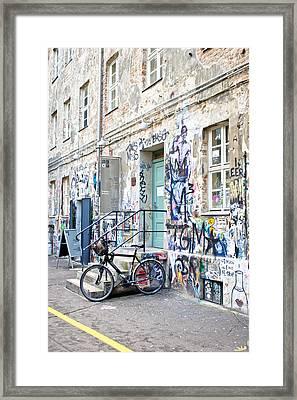 Otto Weidt's Museum Framed Print by Tom Gowanlock