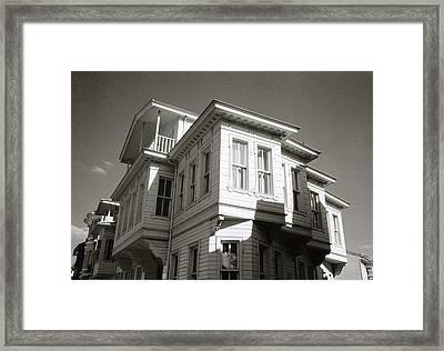 Ottoman Housing Framed Print