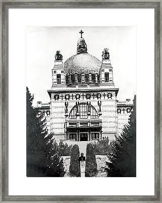 Ottowagners Church Framed Print