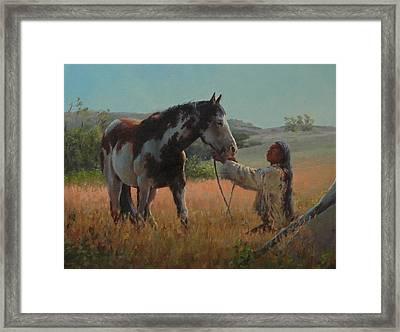 Ottumwa Dawn Framed Print by Jim Clements