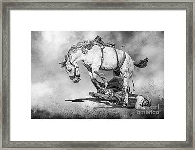 Ouch Framed Print by Eleanor Abramson