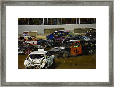 Ouch.... Framed Print by Mike Martin