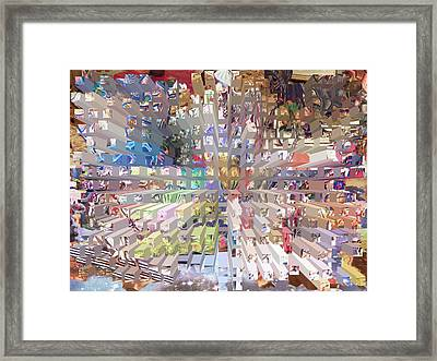 Our Abundant Planet Framed Print by Ann Johndro-Collins