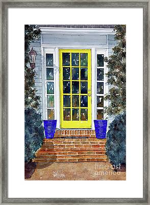 Our Adoooorable Neighbors Framed Print by Tim Ross