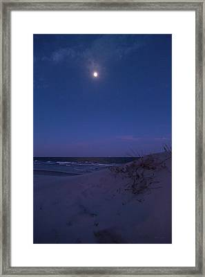 Our Beach Framed Print by Betsy Knapp