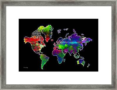 Our Colorful World Framed Print by Randi Grace Nilsberg