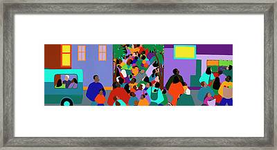 Our Community Framed Print