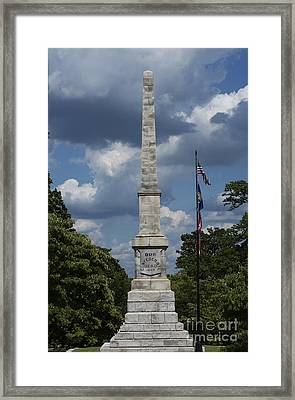 Our Confederate Dead Framed Print