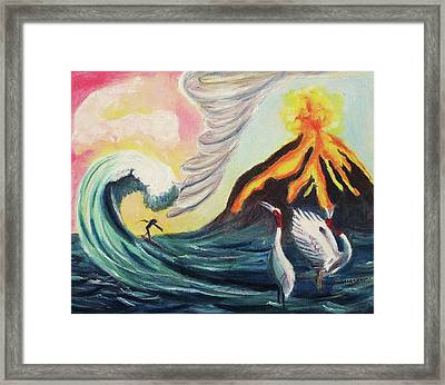 Our Creator Framed Print by Suzanne  Marie Leclair