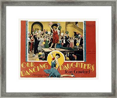 Our Dancing Daughters, Joan Crawford Framed Print by Everett