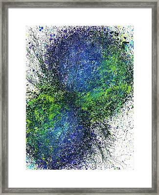 Our Earth Is Always Breathing #533 Framed Print