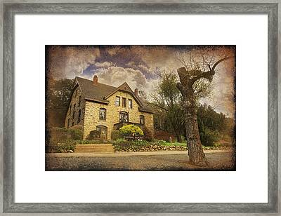 Our Fairytale Framed Print by Laurie Search