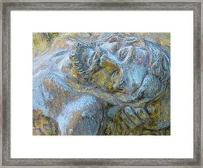 Our Fallen Father Framed Print by Barbara Palmer