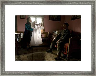 Our First Night Framed Print by Mihnea Turcu