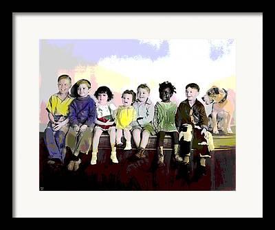 Charles Shoup Mixed Media Framed Prints