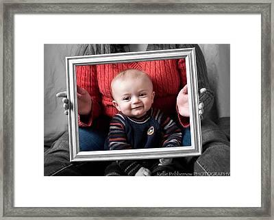 Our Grandson Framed Print