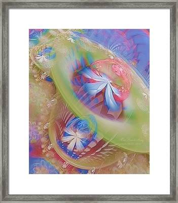 Our Hearts Sing  Framed Print by Gayle Odsather
