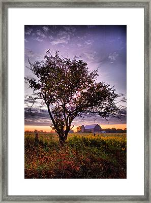 Our Home And Native Land... Framed Print by Russell Styles