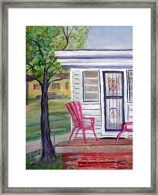 Our House Framed Print by Ben M Arthur