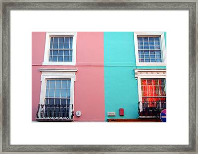 Our House Is A Very Very Very Fine House Framed Print by Jez C Self