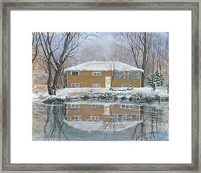 Our House Framed Print