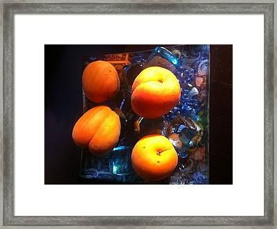 Our Juicy Apricots Framed Print