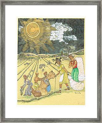 Our Killing Fields Framed Print by Everna Taylor