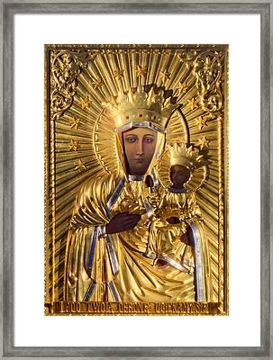 Our Lady Of Czestochowa Poland Framed Print by Magdalena Walulik