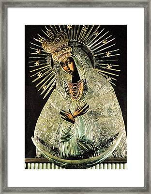 Our Lady Of Gate Of Dawn Framed Print by Magdalena Walulik