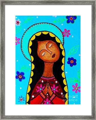 Our Lady Of Guadalupe II Framed Print by Pristine Cartera Turkus
