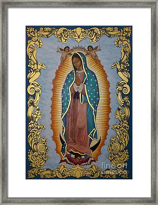 Our Lady Of Guadalupe - Lwlgl Framed Print