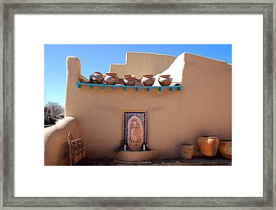 Our Lady Of Guadalupe Shrine Taos Framed Print