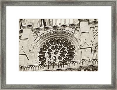 Our Lady Of Paris Framed Print by JAMART Photography