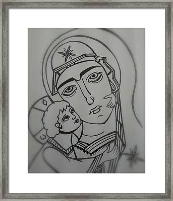 Our Lady Of Perpetual Help Framed Print by Danielle Tayabas